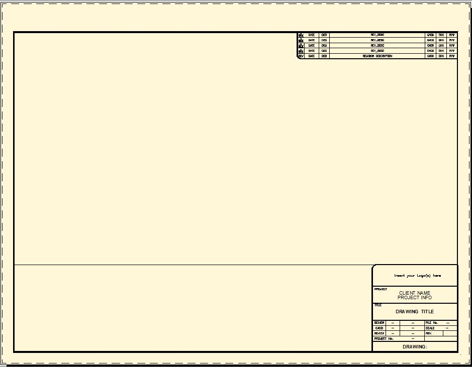 Title blocks cad intentions for Dwg templates free download